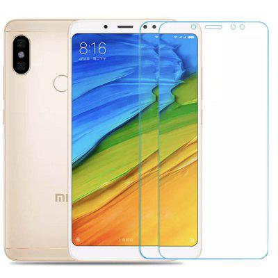 Gocomma 2st 2.5D Arc Edge Gehard Glas Screen Film voor Xiaomi Redmi Note 5