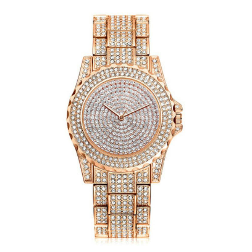V5 Women New Fashion Rhinestone Quartz Watch