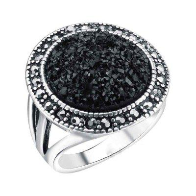 Bohemian Women'S Fashion Black Stone Ring