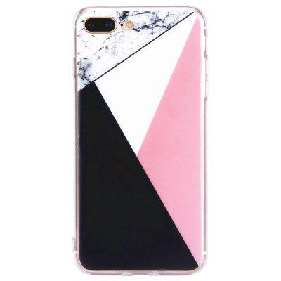 Mixed Color Fashion Marble Soft TPU Phone Case for iPhone 7 Plus fashion printing color pattern soft tpu back phone case for iphone 7 plus