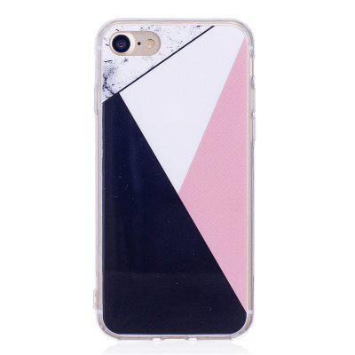 Mixed Color Fashion Marble Soft TPU Phone Case for iPhone 7 fashion printing color pattern soft tpu back phone case for iphone 7 plus