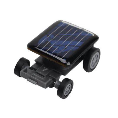 Gadget educativi di alta qualità Mini Solar Power Toy Car Racer
