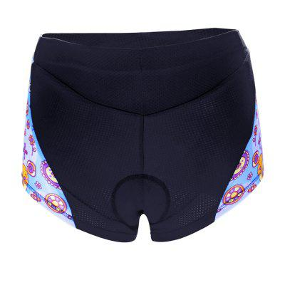 Twotwowin TT13 Women'S Cycling Underwear with 3D CoolMax Padded