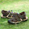 Men Casual Shoes Slippers Sandals - DEEP BROWN