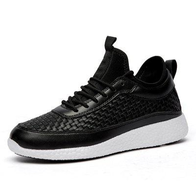 Breathable Lace Up FlatsSneakers Athletic Outdoor Casual Running Shoes