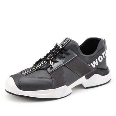 Mesh Respirant Chaussures Hommes Running Comfort Randonnée Lace Up Appartements Sneakers