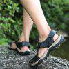 Sandals Beach Casual Shoes Slippers Flip Flops Summer Flats Sneakers - CHARCOAL