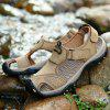 Sandals Beach Casual Shoes Slippers Flip Flops Summer Flats Sneakers - LIGHT KHAKI