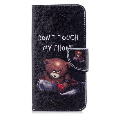 Case for Xiaomi Redmi 5 Plus Bear Pattern PU Leather Wallet