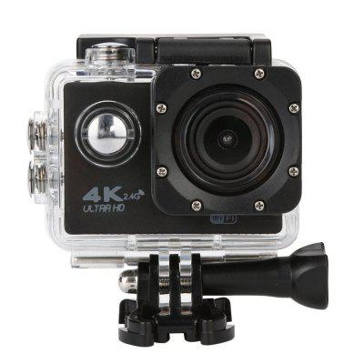 4K WiFi 2.4G Ultra HD Waterproof with Remote Control Sport Camera US Plug
