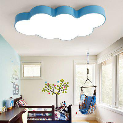 BRELONG LED Cloud Ceiling Light Children's Bedroom Cartoon Lights 60 x 40 x 9cm 36W White Light