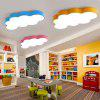 BRELONG LED Cloud Ceiling Light Children's Bedroom Cartoon Lights 60 x 40 x 9cm 36W White Light - SKY BLUE