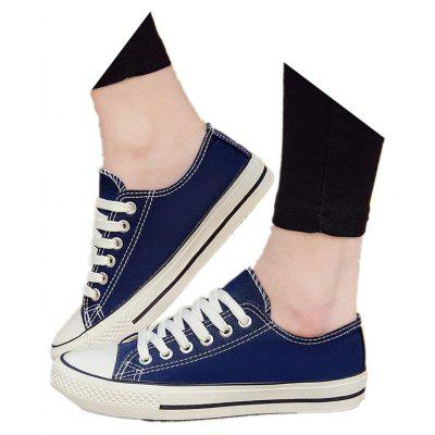 Classic Canvas All-Match Low Casual Shoes