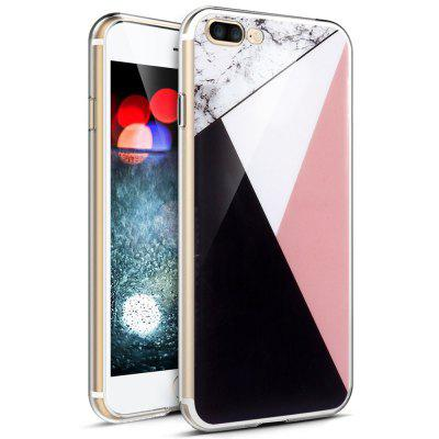 Mixed Color Fashion Marble Soft TPU Phone Case for iPhone 8 Plus fashion printing color pattern soft tpu back phone case for iphone 7 plus