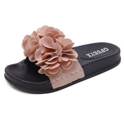 Flat Flower Anti Skid Shoes