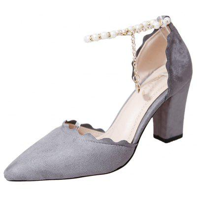 Shallow Mouth Thin  Pointy Head Fashionable  Match Women's Shoes