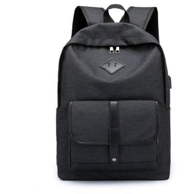 Anti-Theft 15.6 inch Laptop Backpacks Security USB Travel School Bag