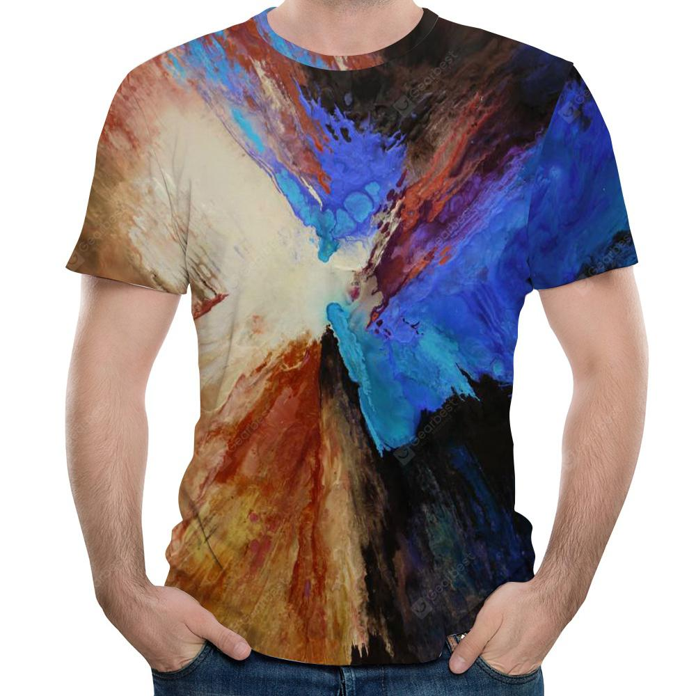 2018 Summer Men's 3D Short SleeveT-Shirt