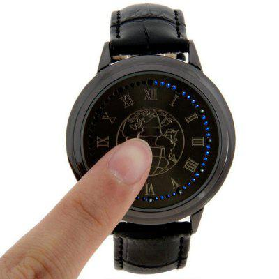 Lucky Family G1197 Earth Surface Touch Screen LED Watch