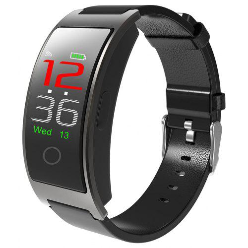 CK11C Color OLED Screen Smart Wristband Heart Rate Monitor Pedometer  Fitness Blood