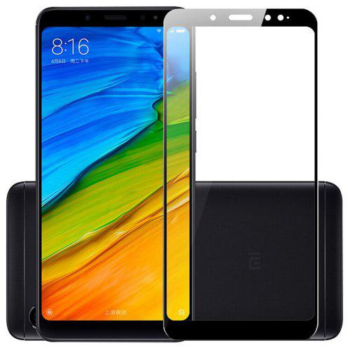 Naxtop Full Screen Protector Tempered Glass for Xiaomi Redmi Note 5 Pro -Black