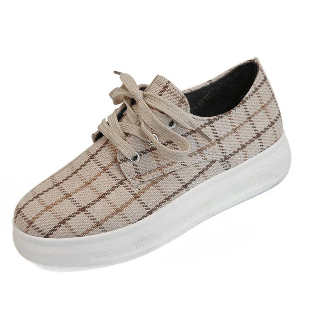 Women Lattice Casual Shoes