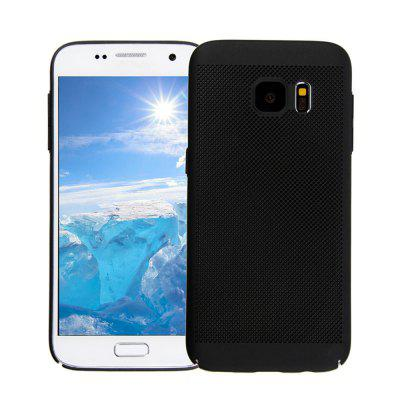 Case for Samsung S7 Heat Dissipation Ultra-Thin Frosted Back Cover Solid