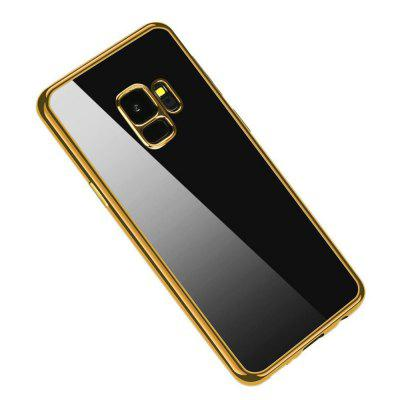 Clear TPU Plating Case Slim Shock Cover for Samsung Galaxy S9 5.8 inch