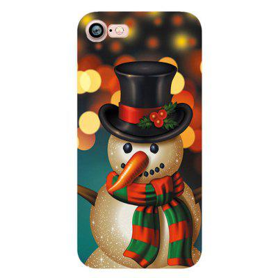 Merry Christmas Snowman Santa Claus Case for Iphone 7 Soft Silicone TPU Cove christmas phone case for iphone 7 christmas gift