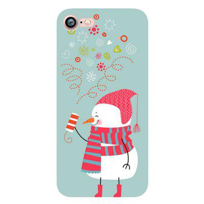 Merry Christmas Snowman Santa Claus Case for Iphone 7 Soft Silicone TPU Cover christmas phone case for iphone 7 christmas gift