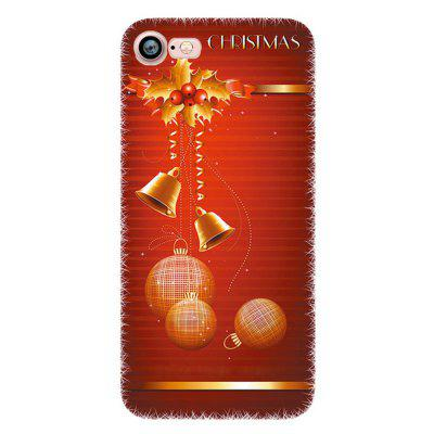 Merry Christmas Snowman Santa Claus Case for Iphone 7 Soft Silicone TPU Cover for iphone 7 4 7 inch gel tpu patterned case cover never stop dreaming