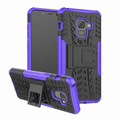 Case for Samsung A8 2018 Shockproof Back Cover Armor Hard Silicone