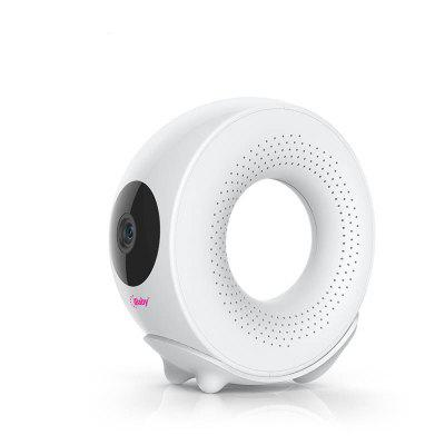 iBaby M2S Plus 1080p Full HD Wi-Fi Digital Video Baby Monitor with Temp Humidity