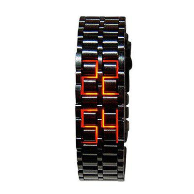 Stainless Steel Men Digital Watches