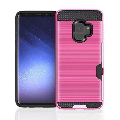Фото Card Slot Holder Heavy Duty Drop Protective Cover Case for Samsung Galaxy S9 enkay high definition protective film for samsung galaxy s9