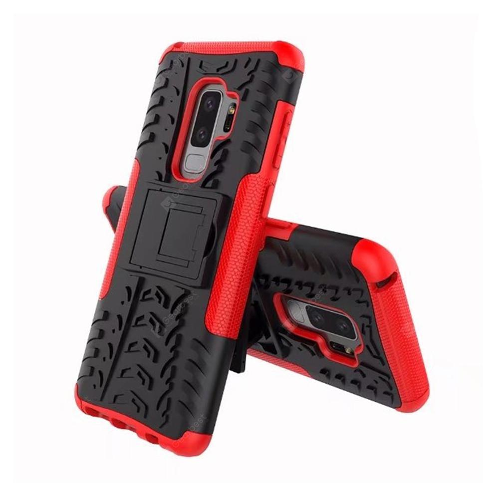 Cover Case for Samsung Galaxy S9 Stents ShockProof Hard Builder Armor