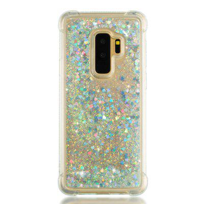 Cover Case for Samsung Galaxy S9 Plus Dynamic Quicksand Soft TPU Back