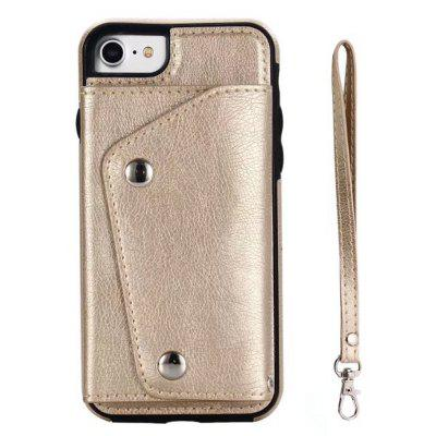 Cover Case for iPhone 7 / 8 Fashion Bag Style Leather Suit cover case for iphone 7 8 solid color dove of peace leather