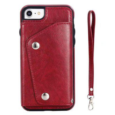 Cover Case for iPhone 7 / 8 Fashion Bag Style Leather Suit
