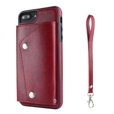 Cover Case for iPhone 7 Plus / 8 Plus Fashion Bag Style Leather Suit mercury goospery milano diary wallet leather mobile case for iphone 7 plus 5 5 grey