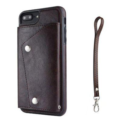 Cover Case for iPhone 7 Plus / 8 Plus Fashion Bag Style Leather Suit cover case for iphone 7 8 solid color dove of peace leather