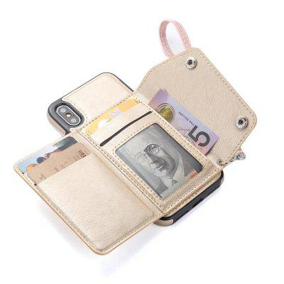 Cover Case for iPhone X Fashion Bag Style Leather Suit