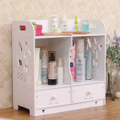 PVC Cosmetics Dresser Drawers Storage Box