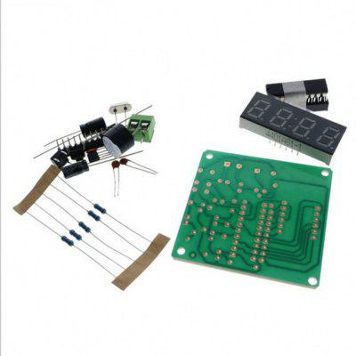 4 Bits Digital LED Electronic Clock Production Suite DIY Kits Set