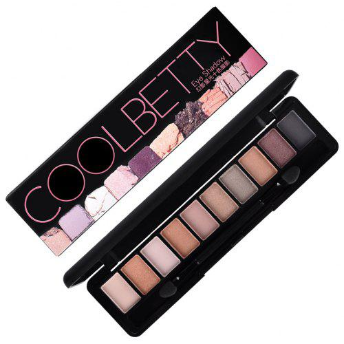 COOLBETTY 7558-7560 Star-light 10 Colors Brighten Eye Shadow
