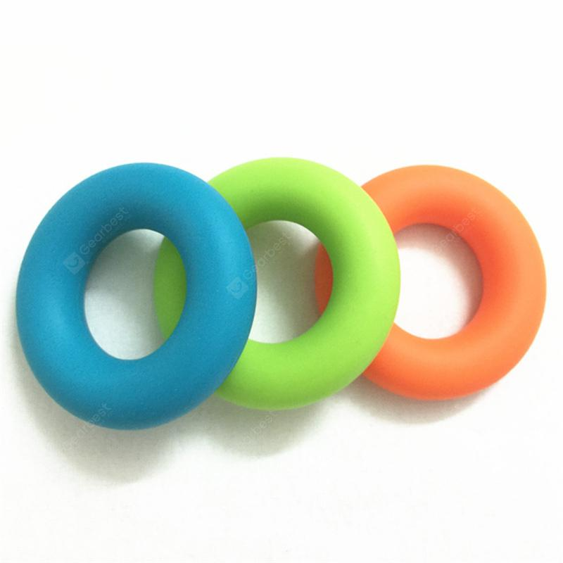 Silicone Finger Power Training Tool Exercise Ring Rubber Hand Grip ...