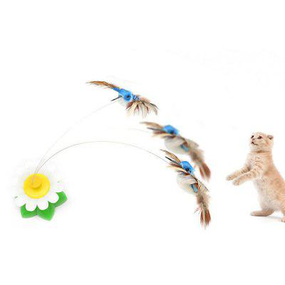 Birds Flying Electric Amusement Cat Interactive Small Toys