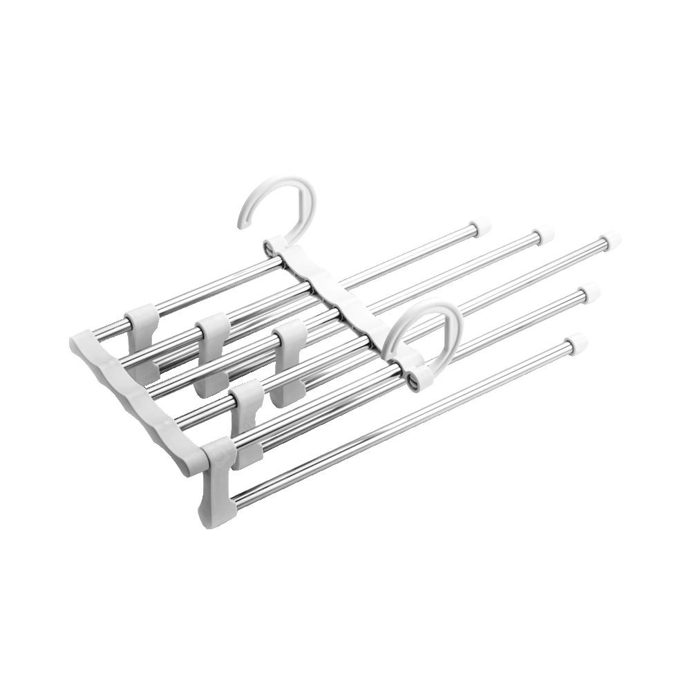 Stainless Steel Multilayer Stretch Trousers Rack