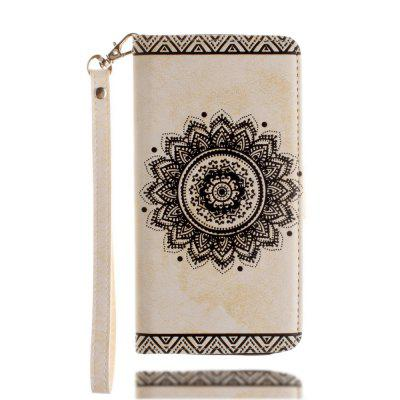 For iphone 7 / 8 Embossed Mantra Flower Patte...