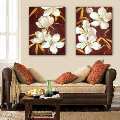 Special Design Frameless Paintings Lilac Print 2PCS